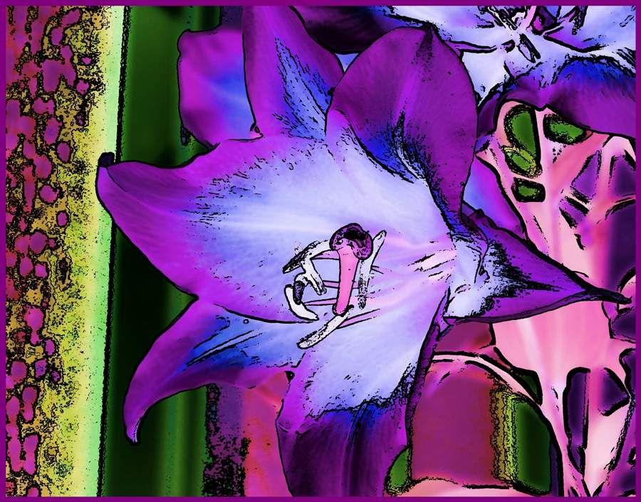 Pop Art Blumen