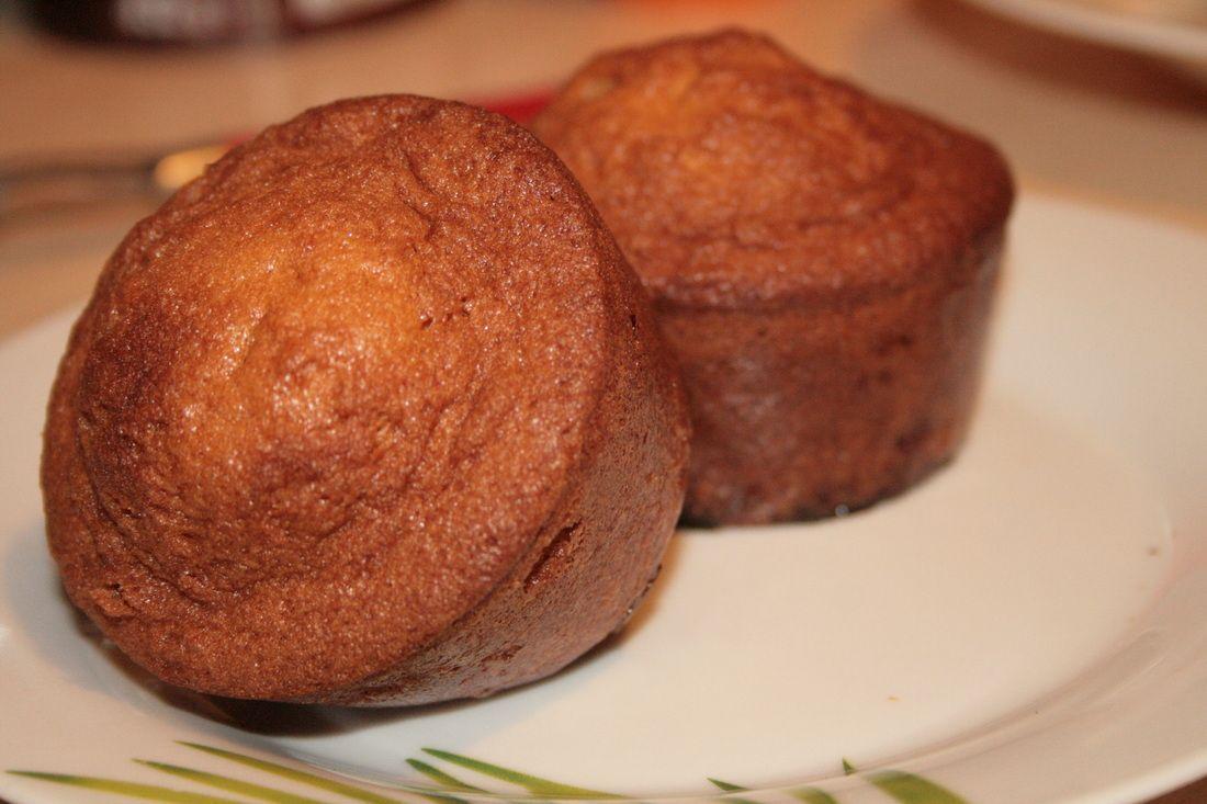 Muffins à la confiture de prune