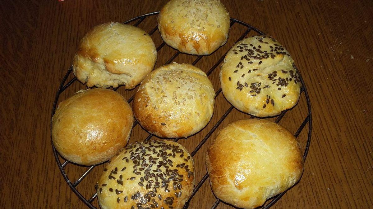 Petits pains de mie aux graines