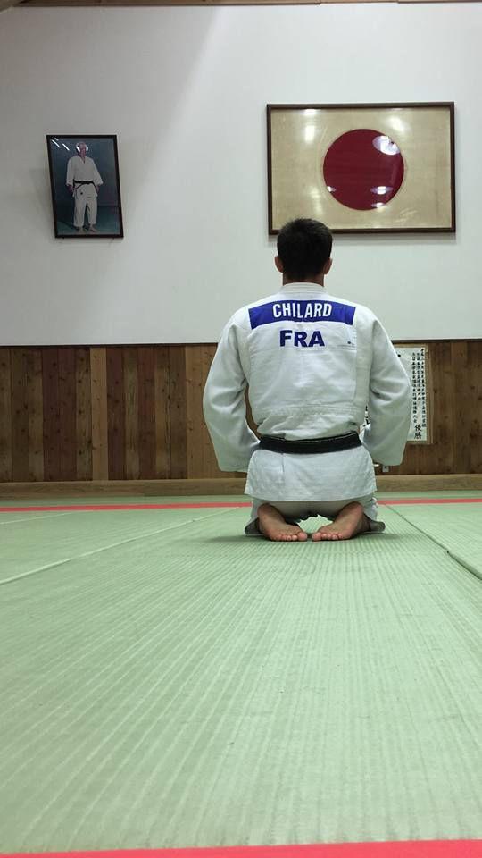 Nicolas au Japon avec l'immense champion Shinichi Shinohara
