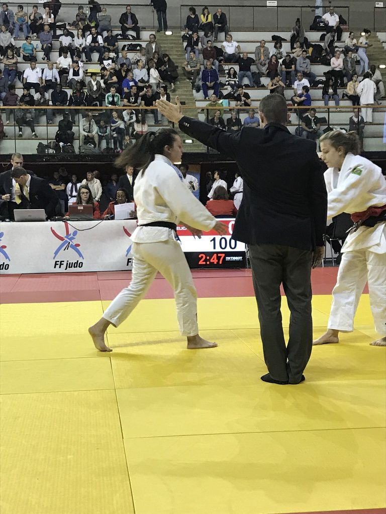 Lucile Coz Hamon 7ème des Championnats de France junior