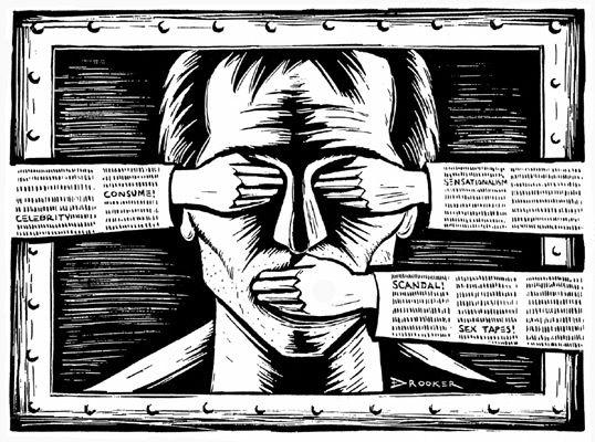 Image représentant la censure