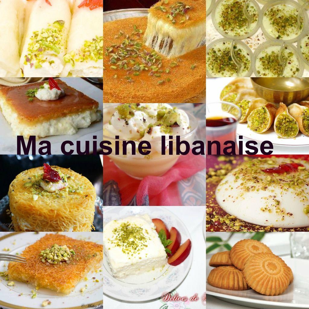 Ma cuisine libanaise les recettes des plats et desserts for Overblog cuisine