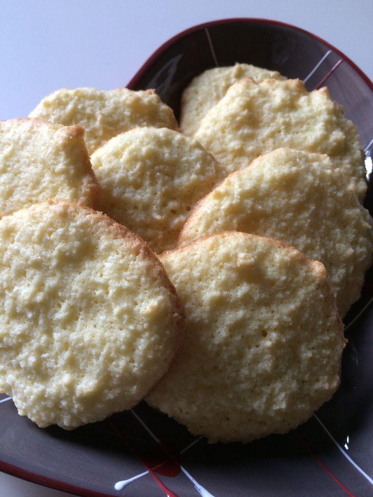 Les biscuits à la noix de coco
