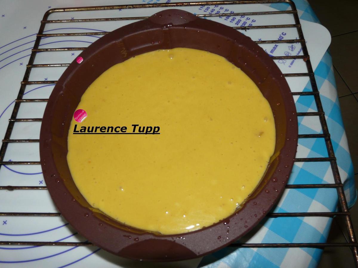 gâteau au citron avec le moule FOOTBALL 100% Silicone modèle coccinelle.