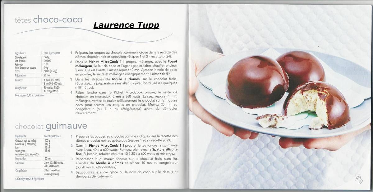 chocolat guimauve