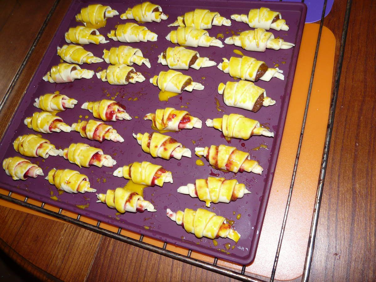 Croissants party Tupperware