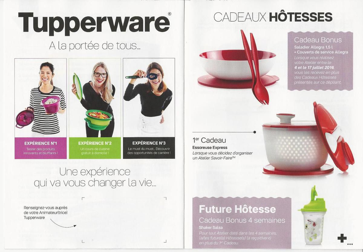 Mini catalogue de juillet