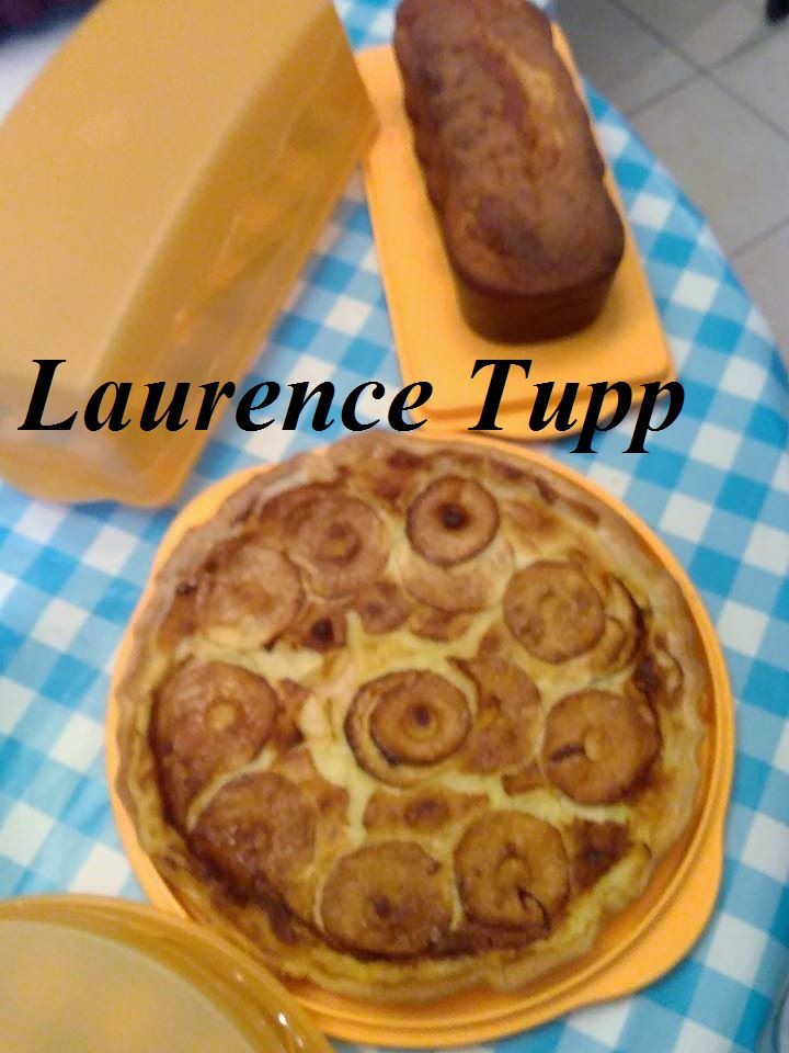 Gateau au Yaourt & tarate aux pommes