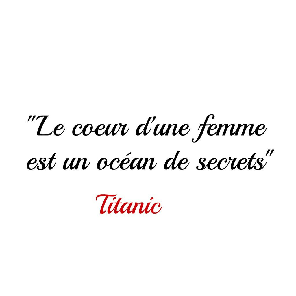 Citation du film Titanic