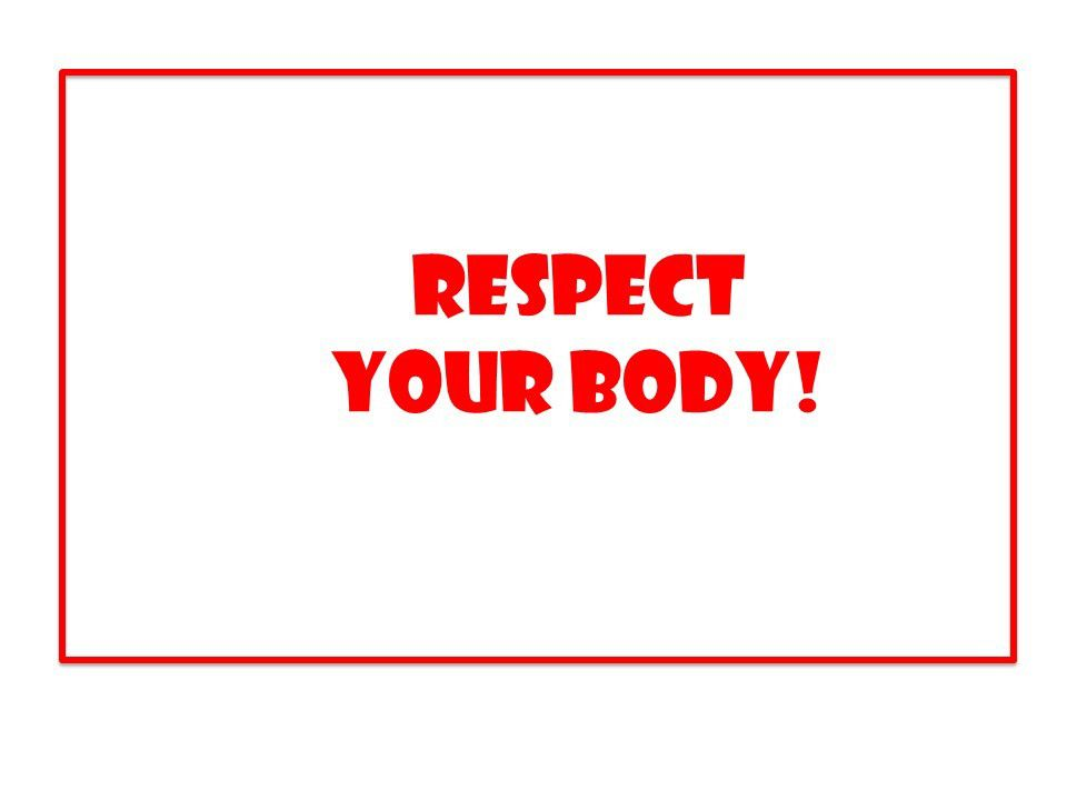 ACE2 Respect your body