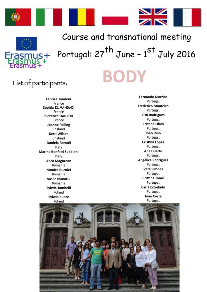 2016 Course in Portugal