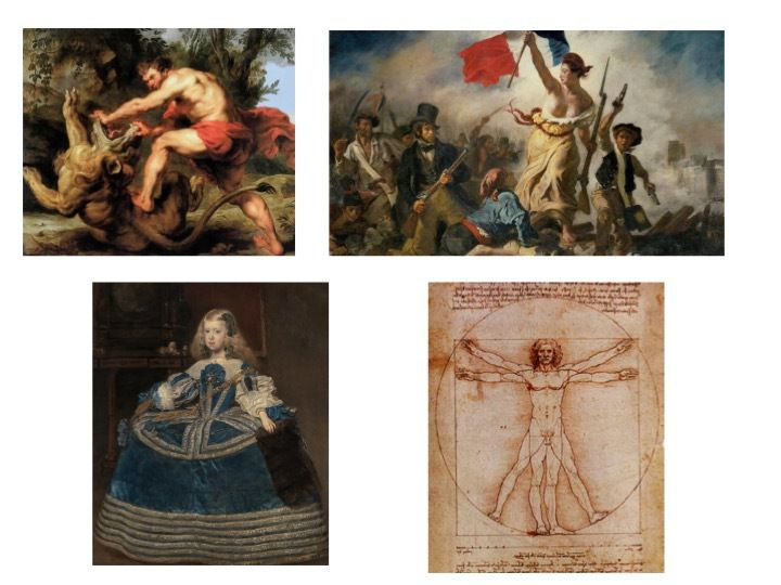 AH1 History of art: vision of the body in art
