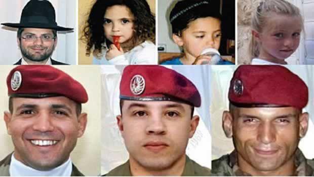 Les 7 victimes de Mohamed Merah!