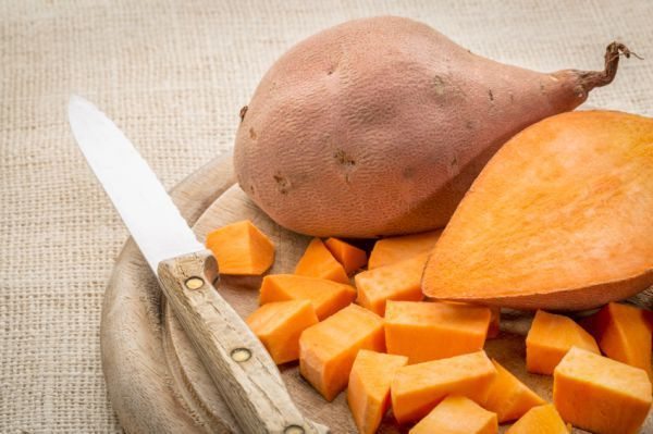"""Sweet potato for dogs? Some common """"human"""" things dogs can eat"""