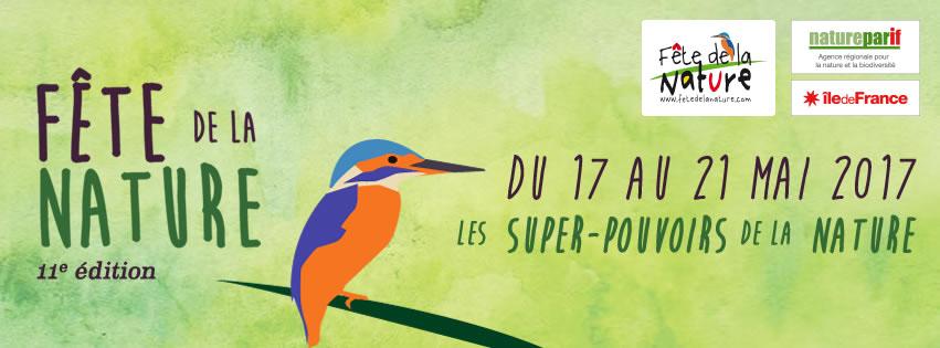 La Fête de la Nature du 17 au 21 mai 2017