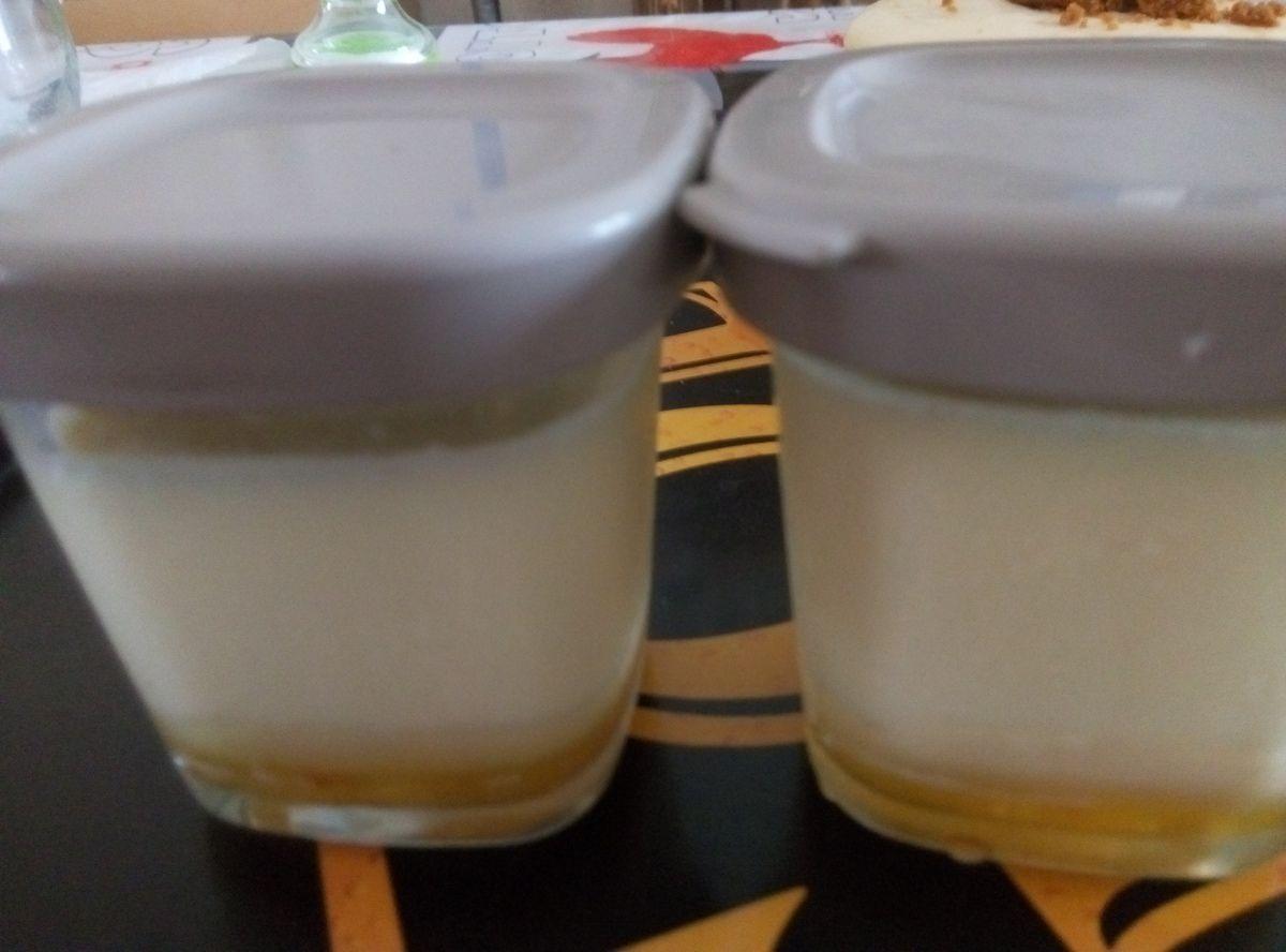 Crèmes au caramel avec la Multi-délices