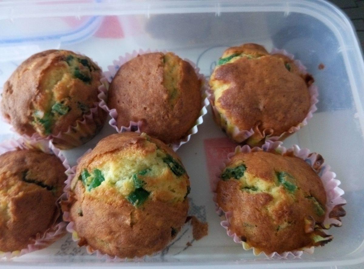 Muffins à l'angélique confite