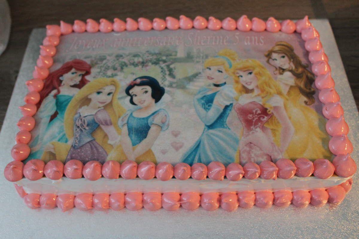 Gâteau pour les princesses! (idée déco)