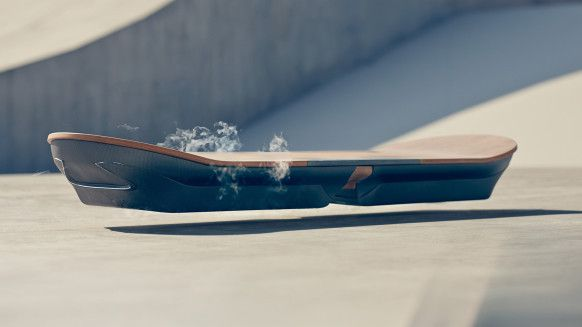 The worlds first real Hoverboard !