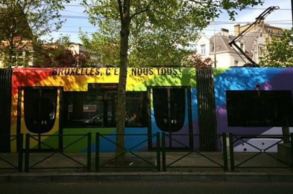 Molenbeek-Saint-Jean fêtera sa World Love Revolution et arbore fièrement le rainbow flag