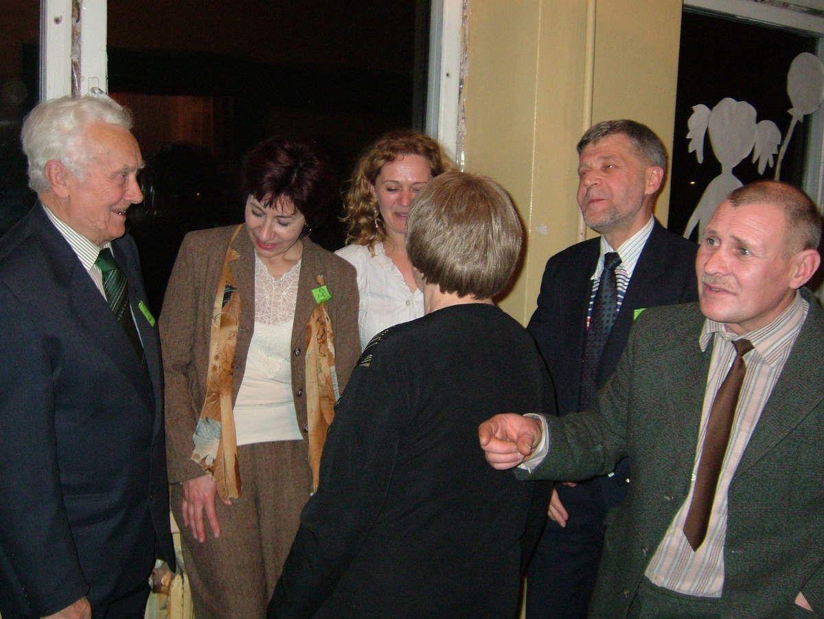 2006 - ųjų lapkričio 25 d., beveik po 30 m. ... ( Už įamžintas nepakartojamas akimirkas dėkojame Jurui Kesyliui ir Zigmui Meškauskui)