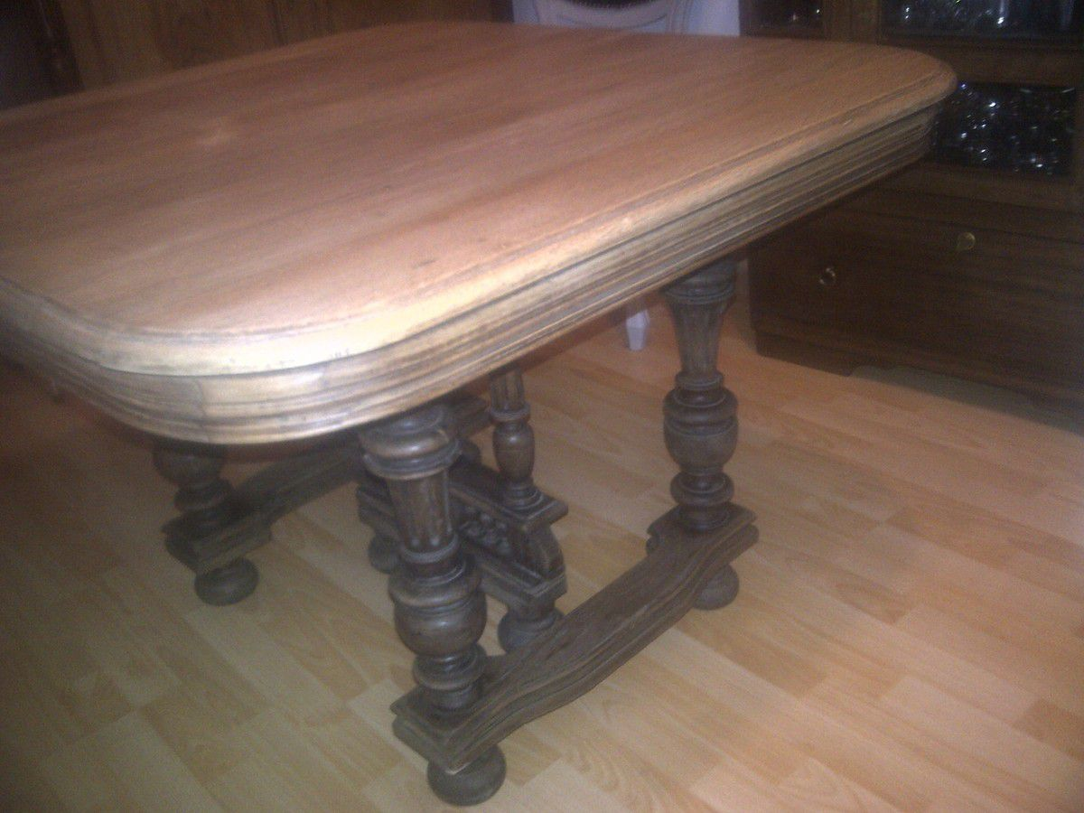 Table henri ii feijoo restauration et relooking de for Meuble henri 2 relooke