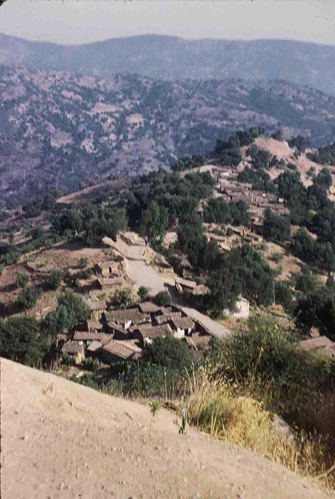 Photos d'archives durant la période coloniale à Azazga.
