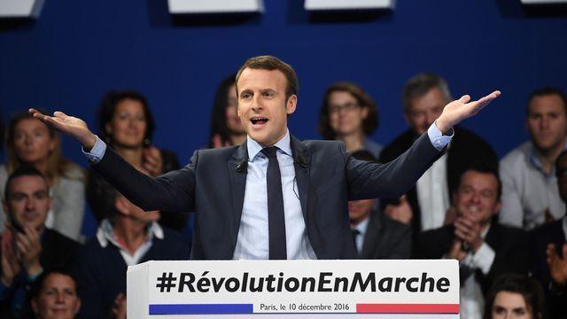 Emmanuel Macron (photo de l'Express)
