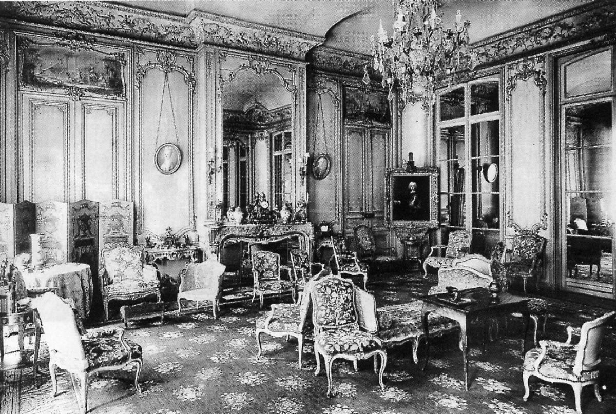 Le chateau d abondant drouais toponymie microtoponymie for Les salons du chateau