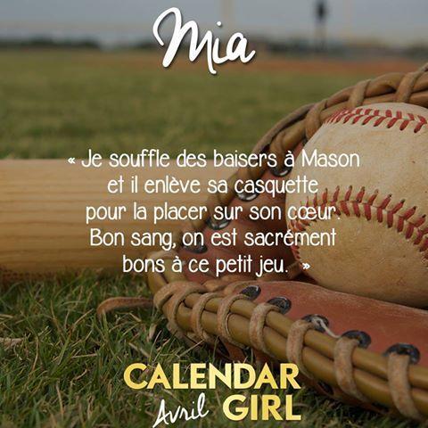 Chronique 27-17:Calendar girl tome4 avril d'Audrey Carlan