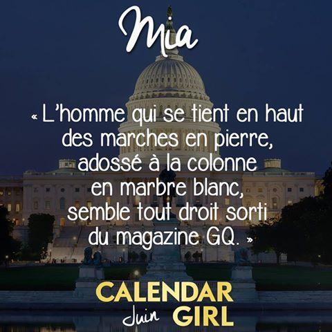 Chronique 33 -17: Calendar girl tome 6: juin d'Audrey Carlan