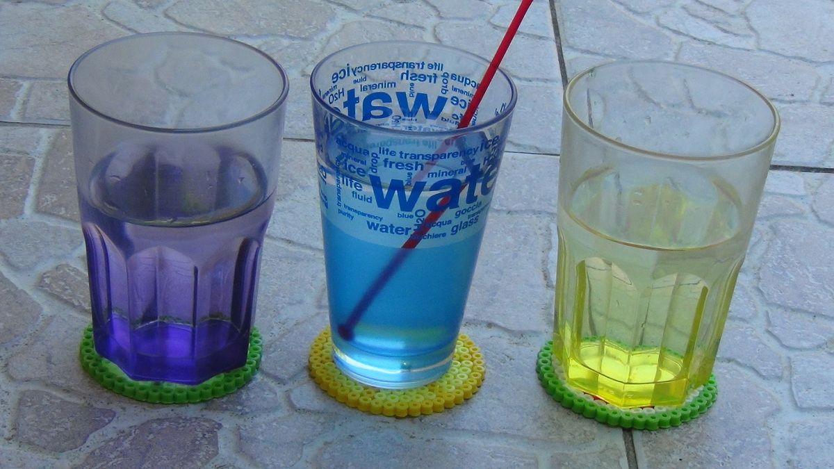 Dessous de verre pour l'été.