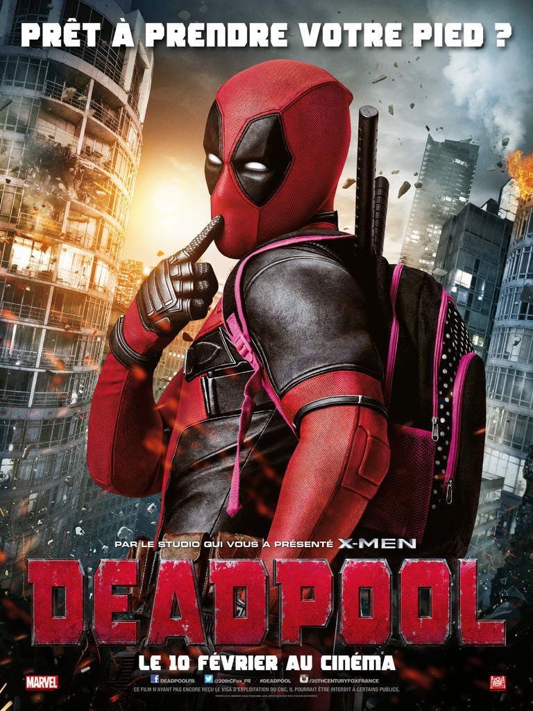 Critique &quot&#x3B;Deadpool&quot&#x3B; de Tim Miller