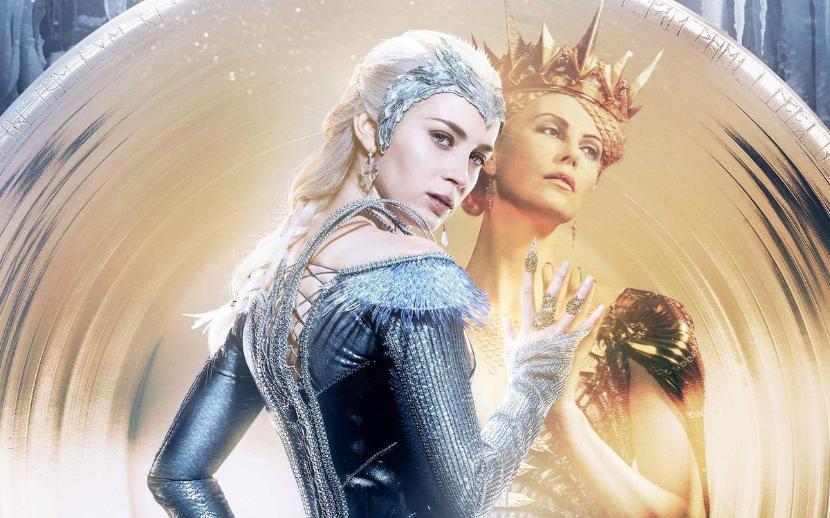Charlize Theron et Emily Blunt, parfaite dans leur rôle de méchantes