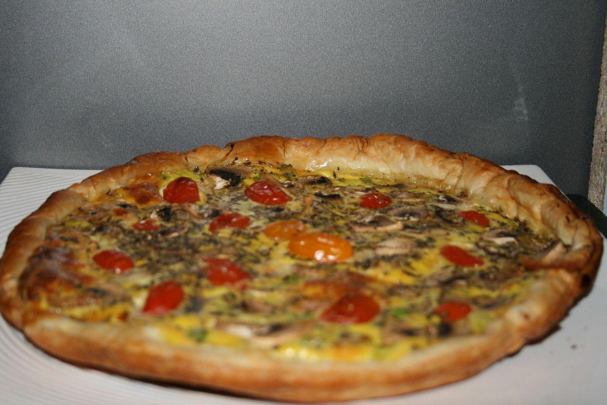 tarte au maroilles et chignons la dinette v 233 g 233 tarienne