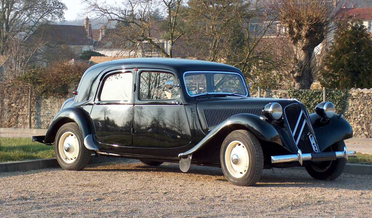 Une traction avant