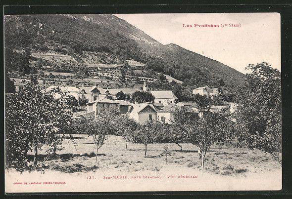 Vue générale de Sainte-Marie