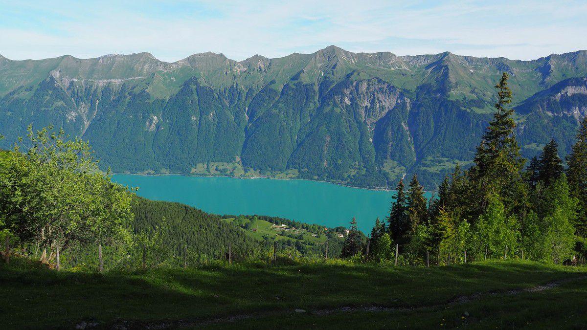 Lac de Brienz &amp&#x3B; Brienzer Rothorn