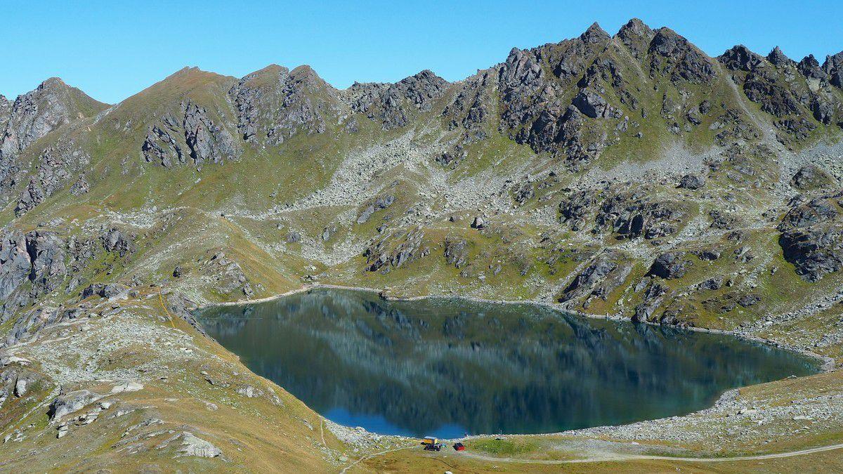 Le grand lac depuis le Mont Rogneux