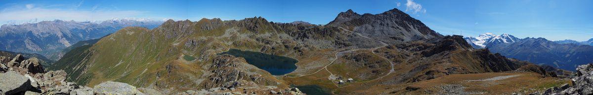 3 lacs et Mont Gelé