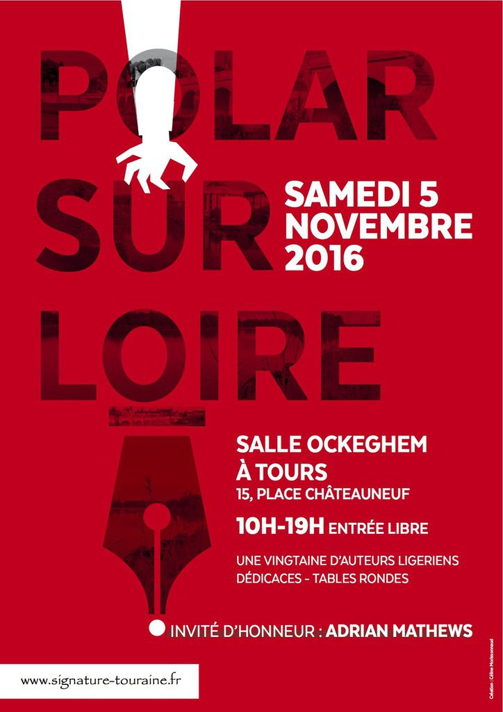 1er salon du polar à Tours !
