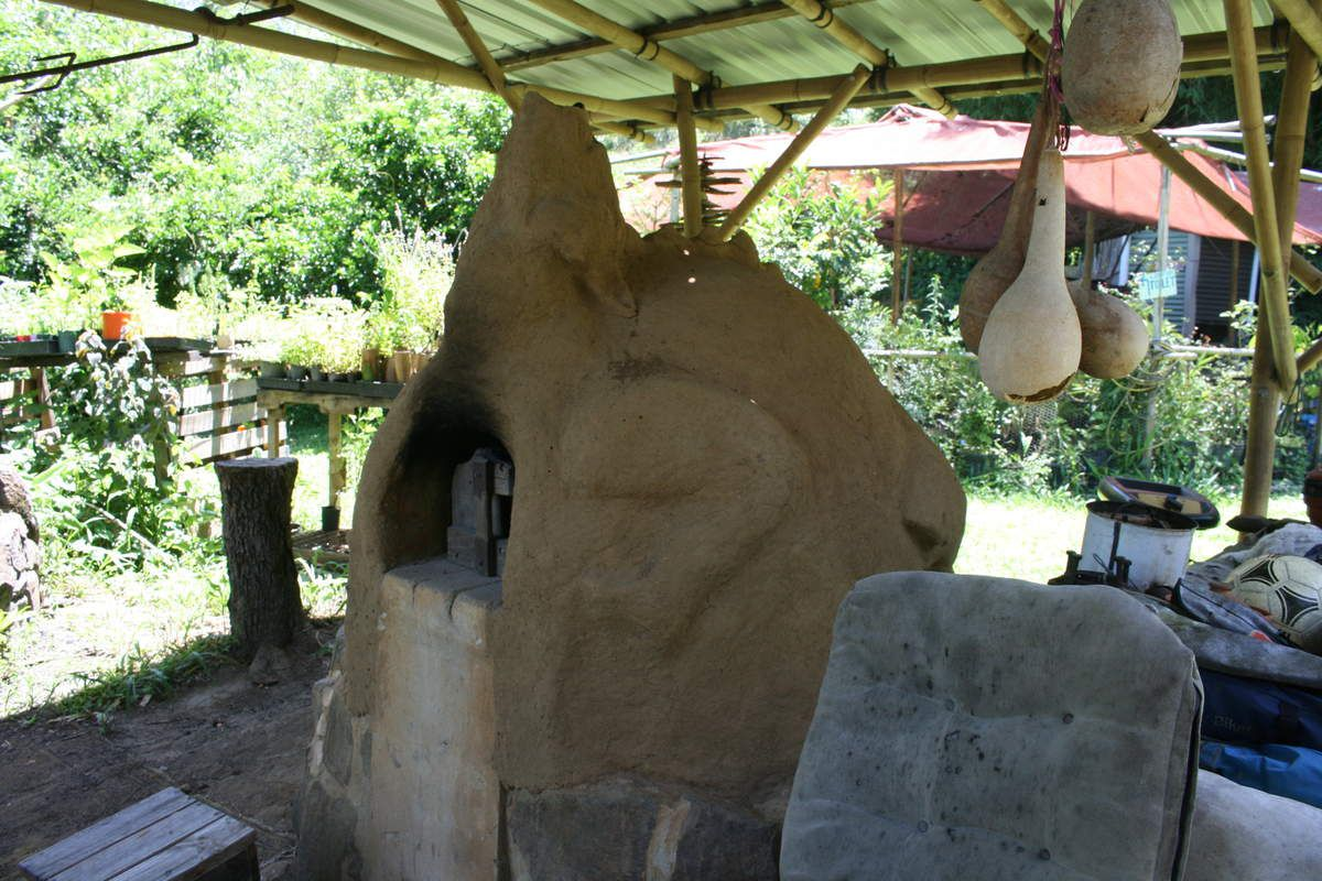 four en terre / mud oven