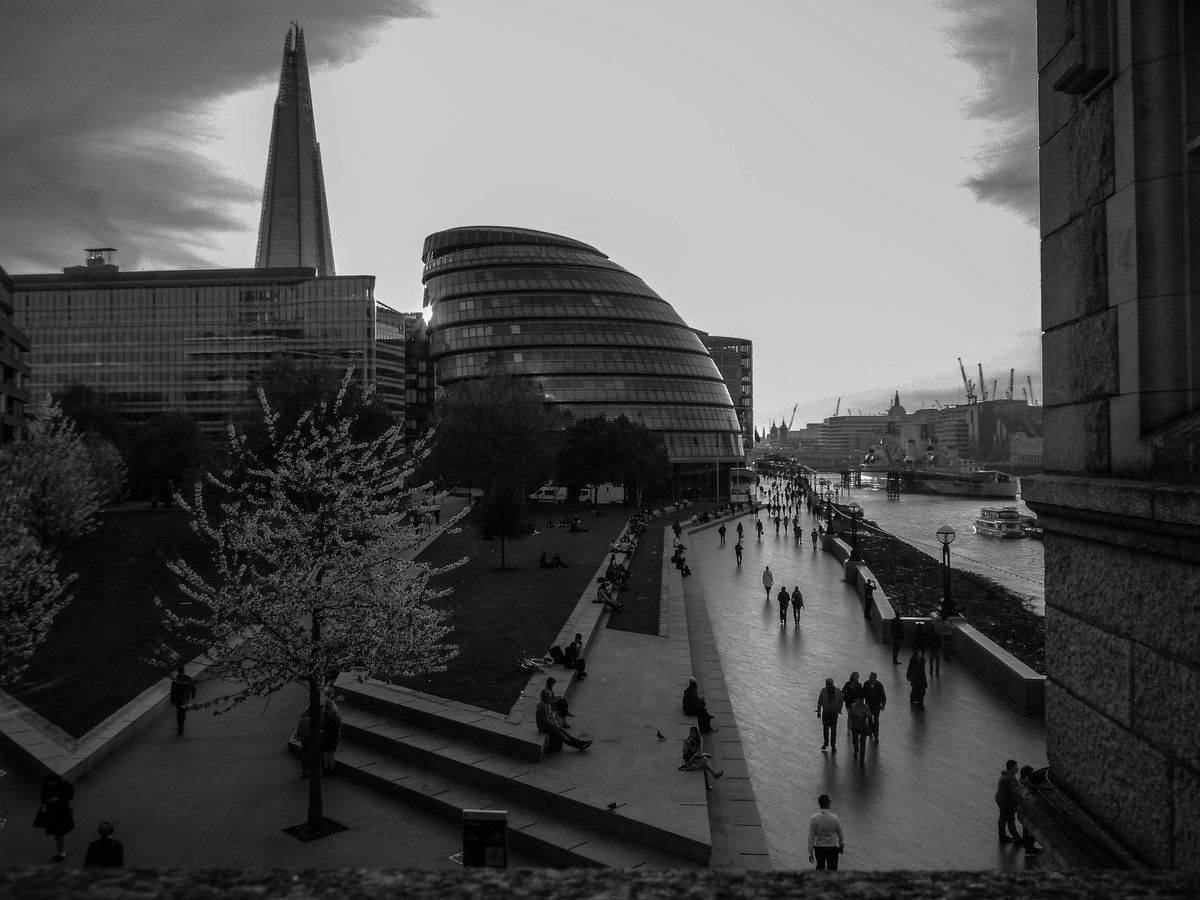 South Bank depuis Tower Bridge