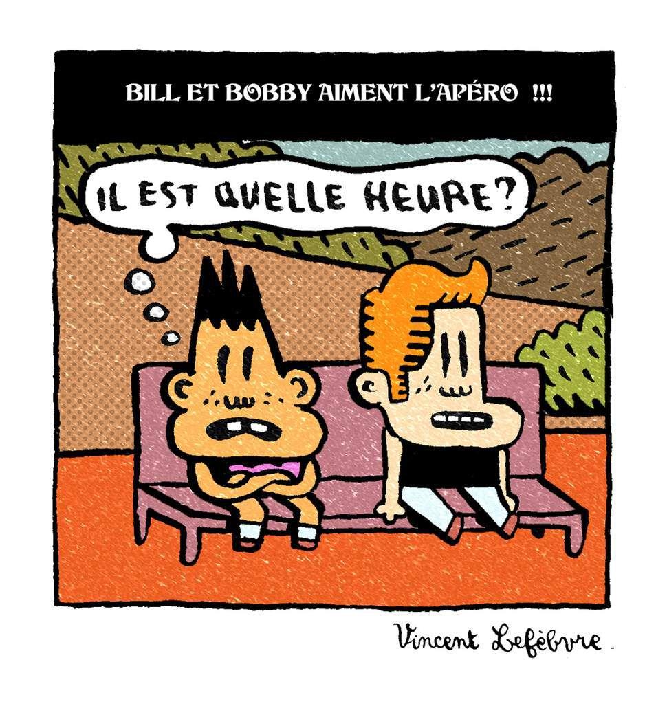 bill et bobby en vignette