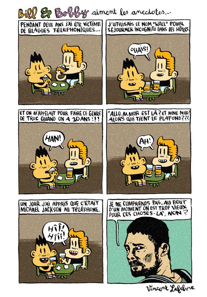 bill et bobby aiment les anecdotes