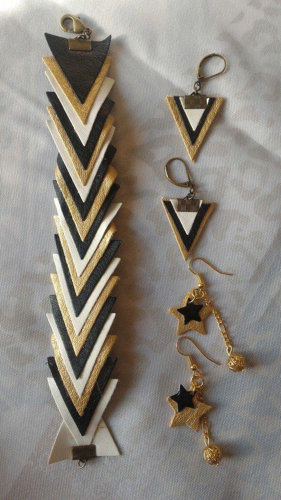 Bijoux en simili cuir