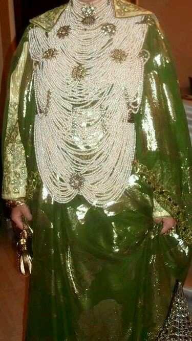 &quot&#x3B;R da&quot&#x3B;, seconde tenue portée par la Mariée de Tlemcen