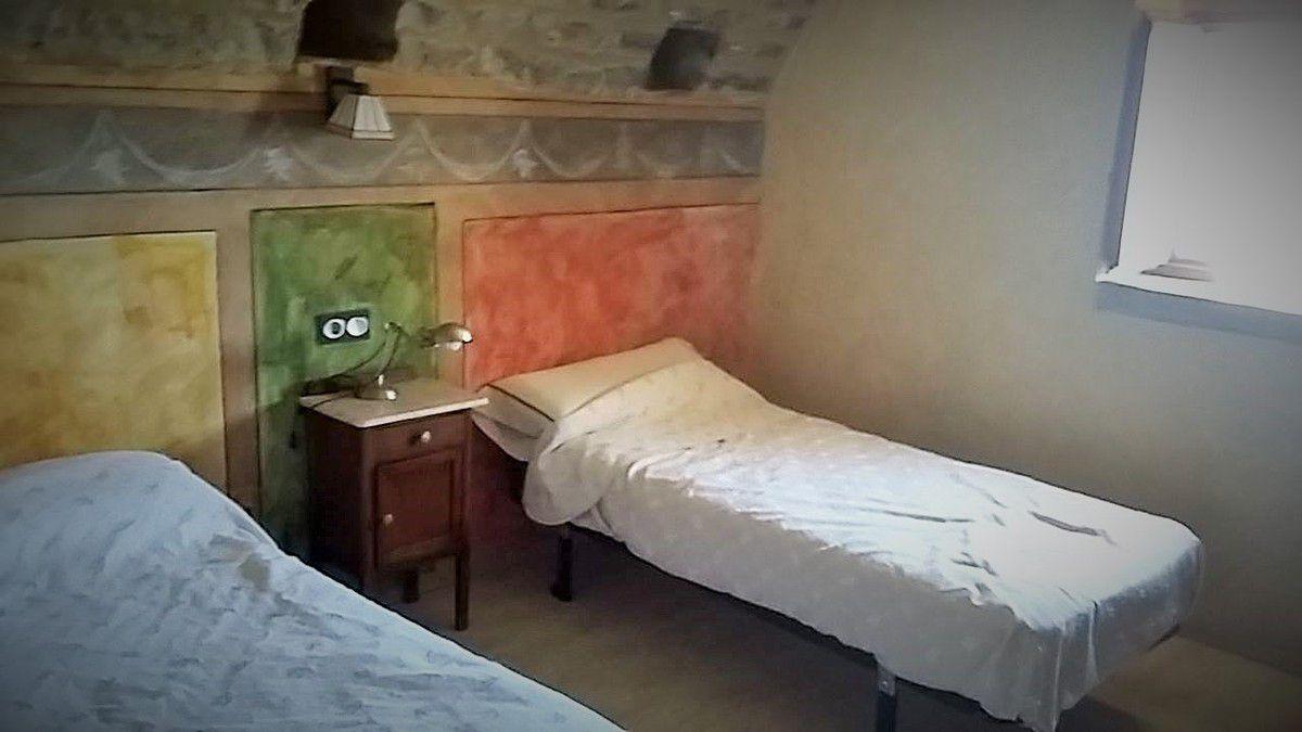 Des vues de notre logement à Casa Mur de Alujan.