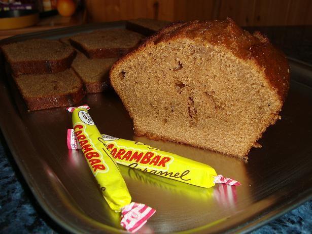 The cake aux Carambars